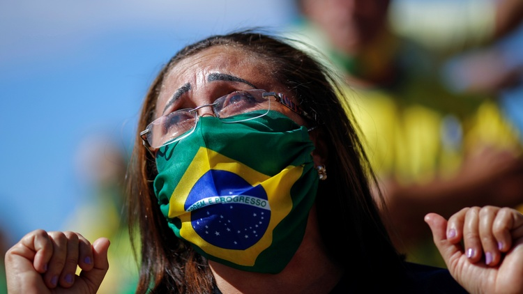 The world's worst COVID-19 outbreaks are in the U.S., with 140,000 deaths, and Brazil, where President Jair Bolsonaro tested positive again for the virus.