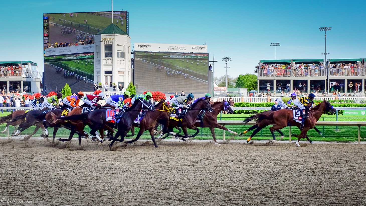 The Kentucky Derby in 2014. The Derby usually happens in spring, but this year, it was pushed to September due to the COVID-19 pandemic. Greg Harbut was the only African American to race a horse at this year's Derby.