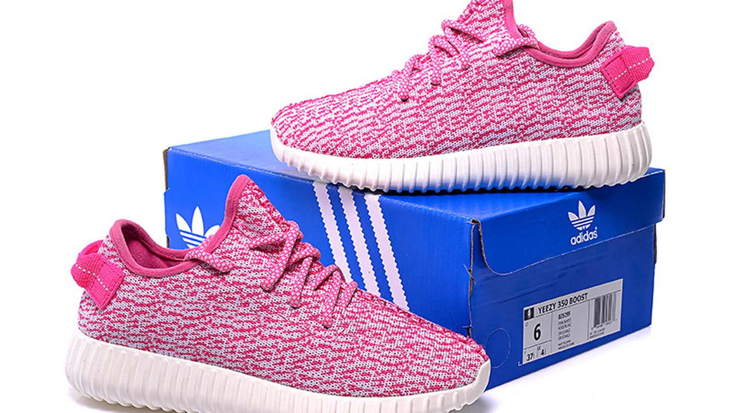 Adidas Yeezy 350 Boost shoes. Kanye West's company Yeezy received a Paycheck Protection Program loan during the coronavirus pandemic.