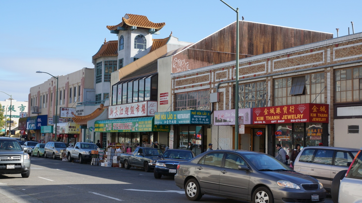 """Elderly Asian Americans in Oakland's Chinatown, plus other parts of the Bay Area, have been attacked in recent weeks. Oakland's Police Chief LeRonne Armstrong said on Monday, """"Some in our community come specifically to Chinatown to target people. … We know that they target our elderly. We also know that they come because they believe that our community won't report it to police."""""""