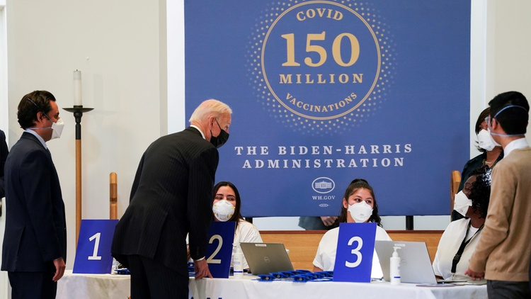 President Biden announced in May that the United States would ship 80 million doses of COVID-19 vaccines to dozens of countries.