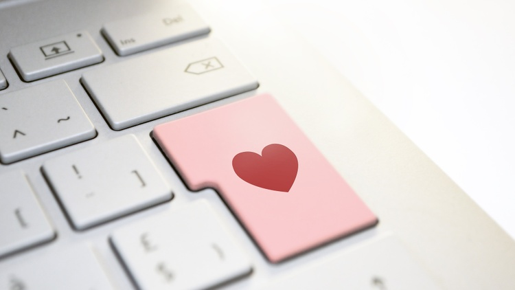 With all the extra time people are spending at home and clicking around the internet, online romance scams are thriving .