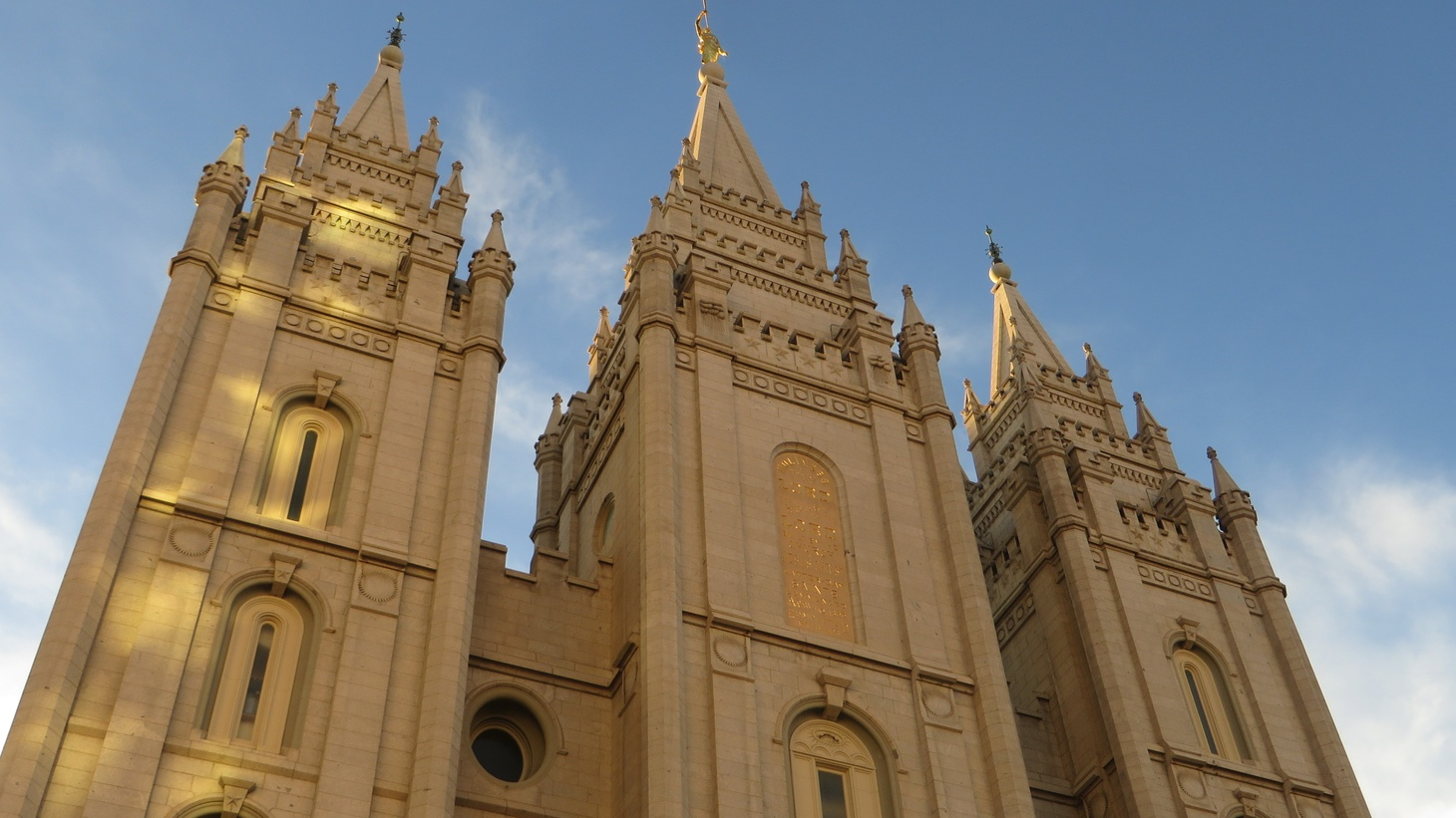 The Salt Lake Temple is part of the Church of Jesus Christ of Latter-day Saints (LDS Church), located on Temple Square in Salt Lake City, Utah, United States.