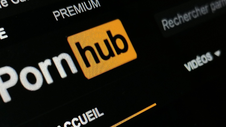 The website Pornhub has taken down 80% of its content.