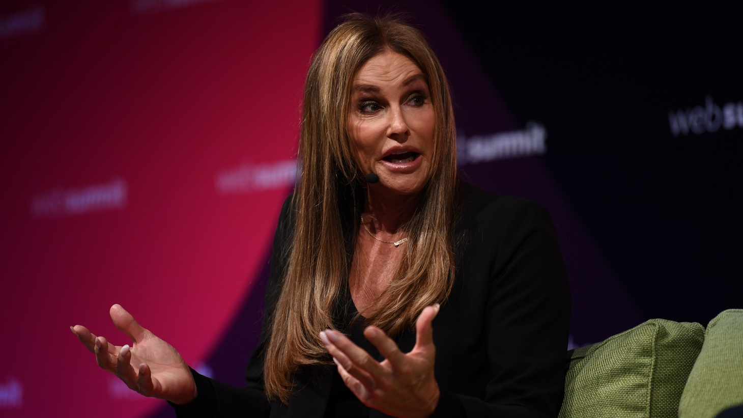 Caitlyn Jenner at Web Summit 2017 in Lisbon.