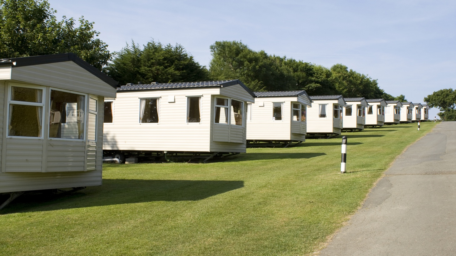 Some top investment firms like the Carlyle Group, Blackstone and Apollo Global Management are spending billions buying trailer parks.