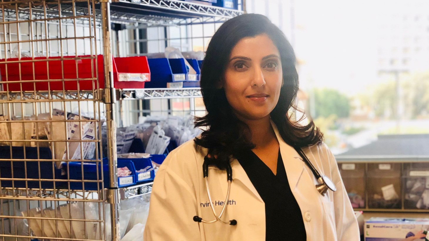 Nilu Patel is a certified registered nurse anesthesiologist at UCI. She says cases at her hospital are increasing, and she's concerned whether they're prepared for what comes next.