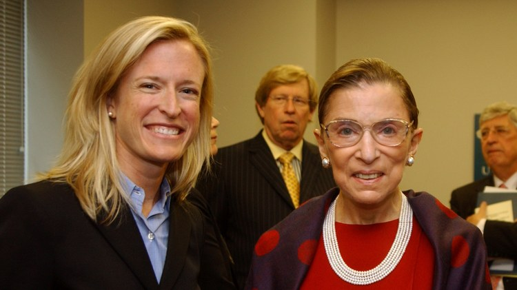 """The book """"Justice, Justice Thou Shalt Pursue"""" presents Ruth Bader Ginsburg's legal philosophy and shows a window into her personal life."""