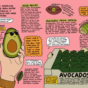 In her new book, Stacy Michelson reveals that Americans eat more avocados on Super Bowl Sunday than any other day, and mochi ice cream was invented in LA.