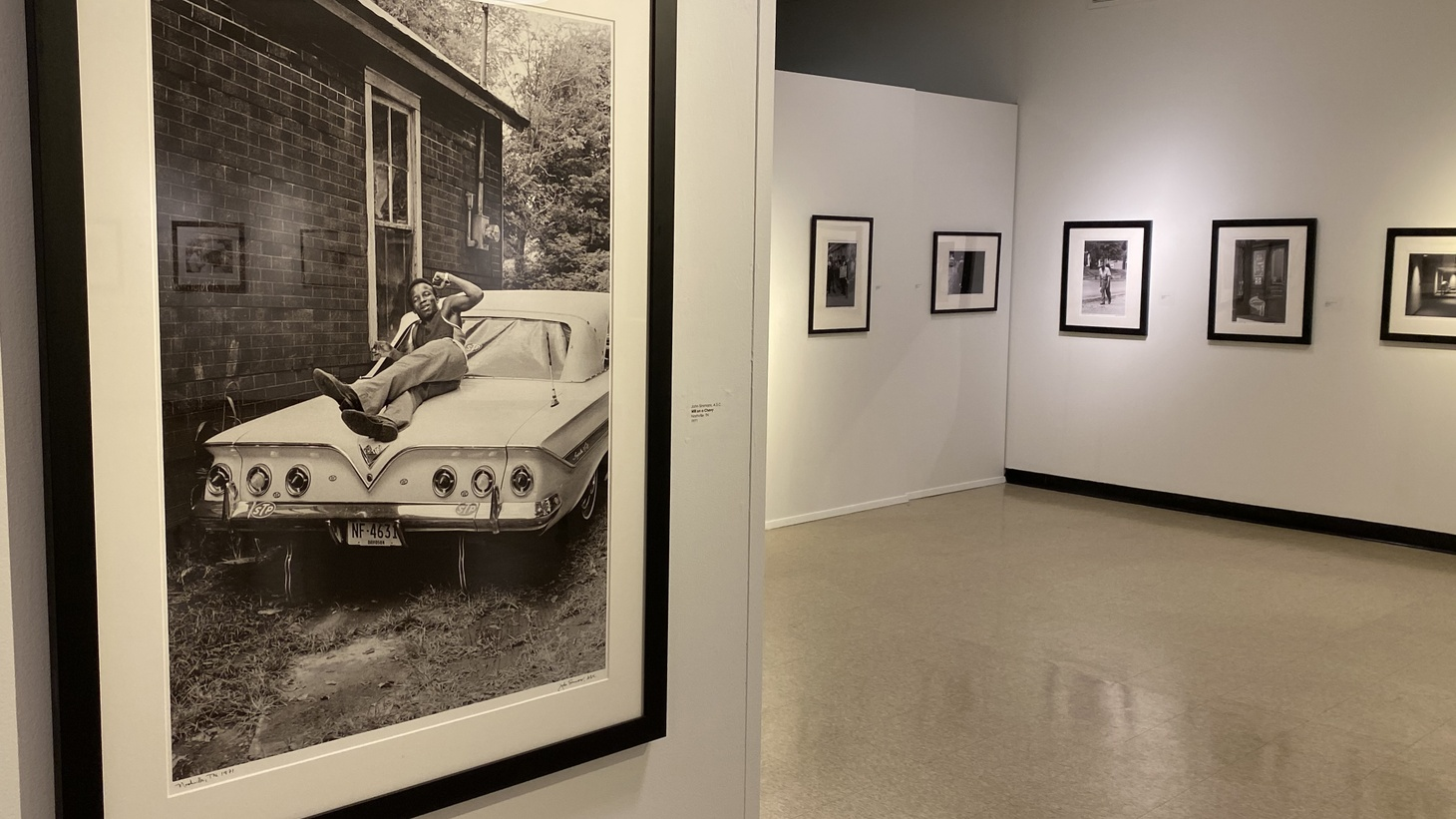 "The Museum of African American Art in Baldwin Hills hosted an exhibit called ""No Crystal Stair: The Photography of John Simmons, ASC"" when they had to shut down in March 2020."