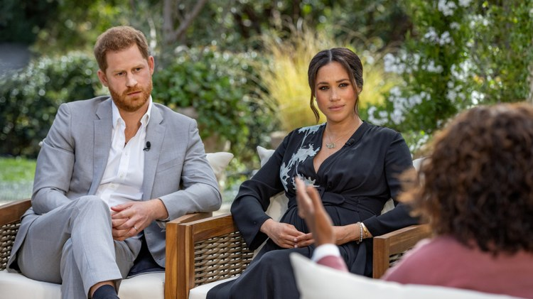 Around 17 million Americans tuned in on Sunday night to watch Prince Harry and Meghan Markle's two-hour sit-down interview with Oprah Winfrey in their new neighborhood of Montecito.
