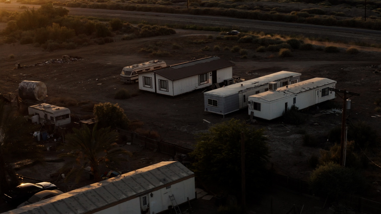 In the California town called Thermal, full-time residents are mostly Latino and undocumented, and many live in trailers off dirt roads. They work on farms and in luxury resorts just a few miles away.