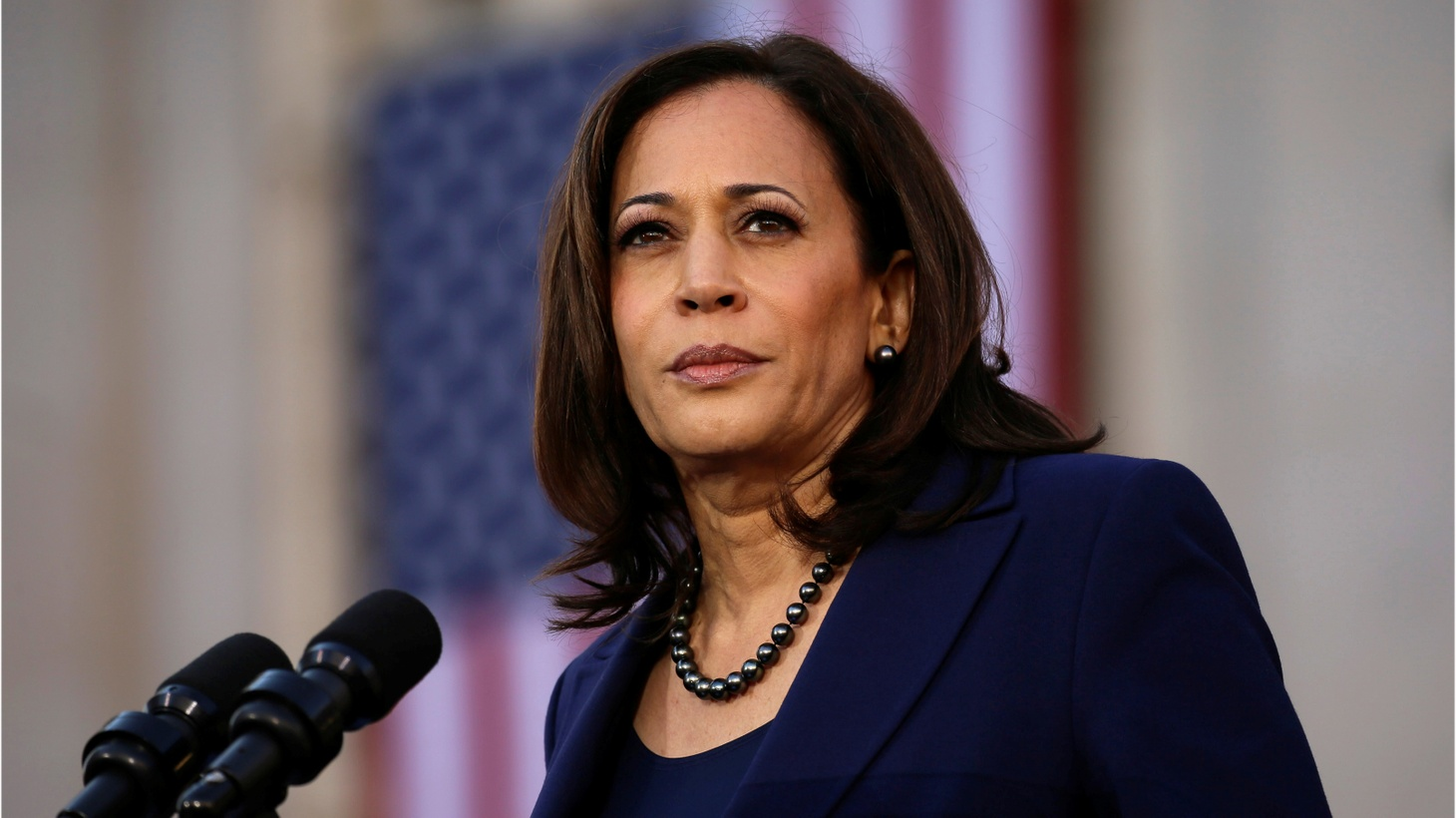 U.S. Senator Kamala Harris launches her campaign for President of the United States at a rally at Frank H. Ogawa Plaza in her hometown of Oakland, California, U.S., January 27, 2019.