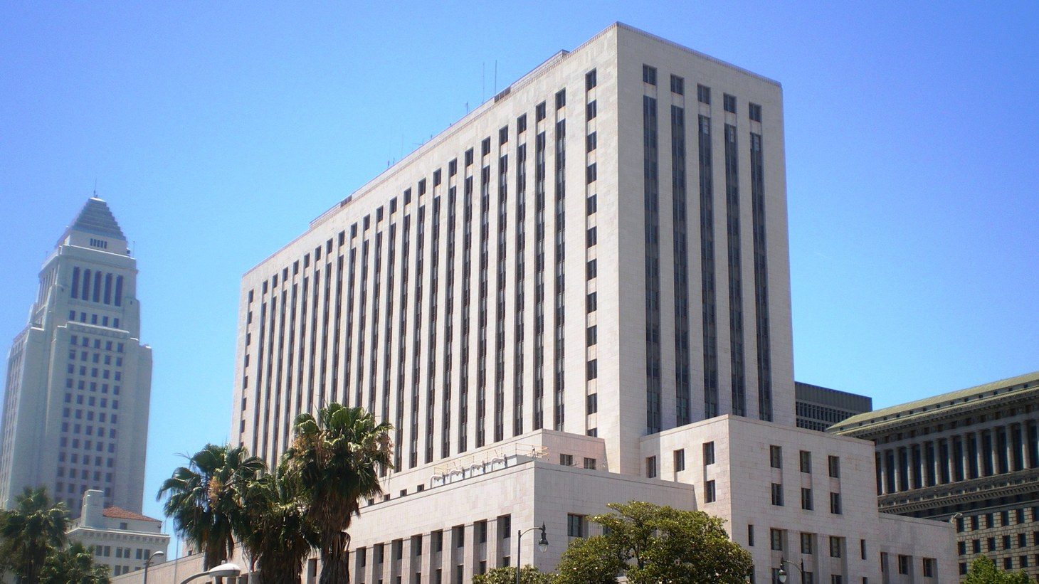 Spring Street Courthouse in Downtown Los Angeles, California.