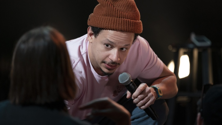 """Eric Andre is known for absurd, physical, and gross comedy. The fifth season of """"The Eric Andre Show"""" is expected later this year."""