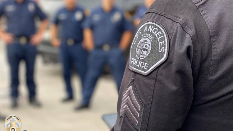 The LAUSD board voted on Tuesday night to cut $25 million from the school police budget. That's a 35% decrease to a department that employs more than 450 officers.