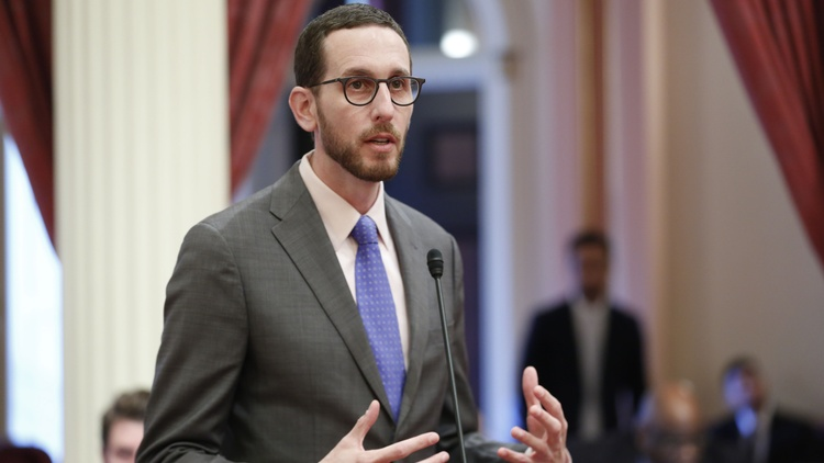 QAnon followers are targeting incumbent lawmakers with vicious online attacks and death threats. California State Senator Scott Wiener is one of those lawmakers.