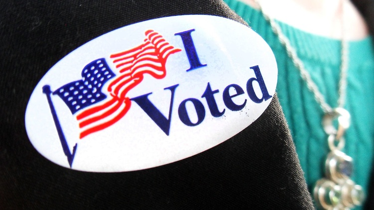 It's Election Day for people living in Northern LA County and parts of Ventura.