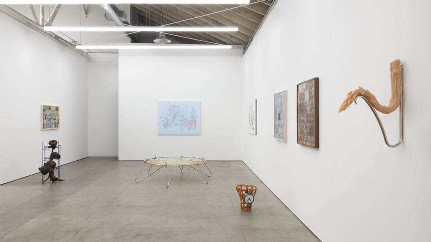 """""""Material Conditions,"""" installation view, 2020, Los Angeles."""