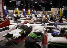 Cramped shelters, illnesses, few resources: Camp Fire evacuees feel the strain