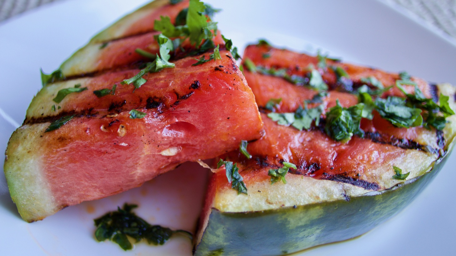 Evan Kleiman says you can grill all sorts of fruit, including watermelon.