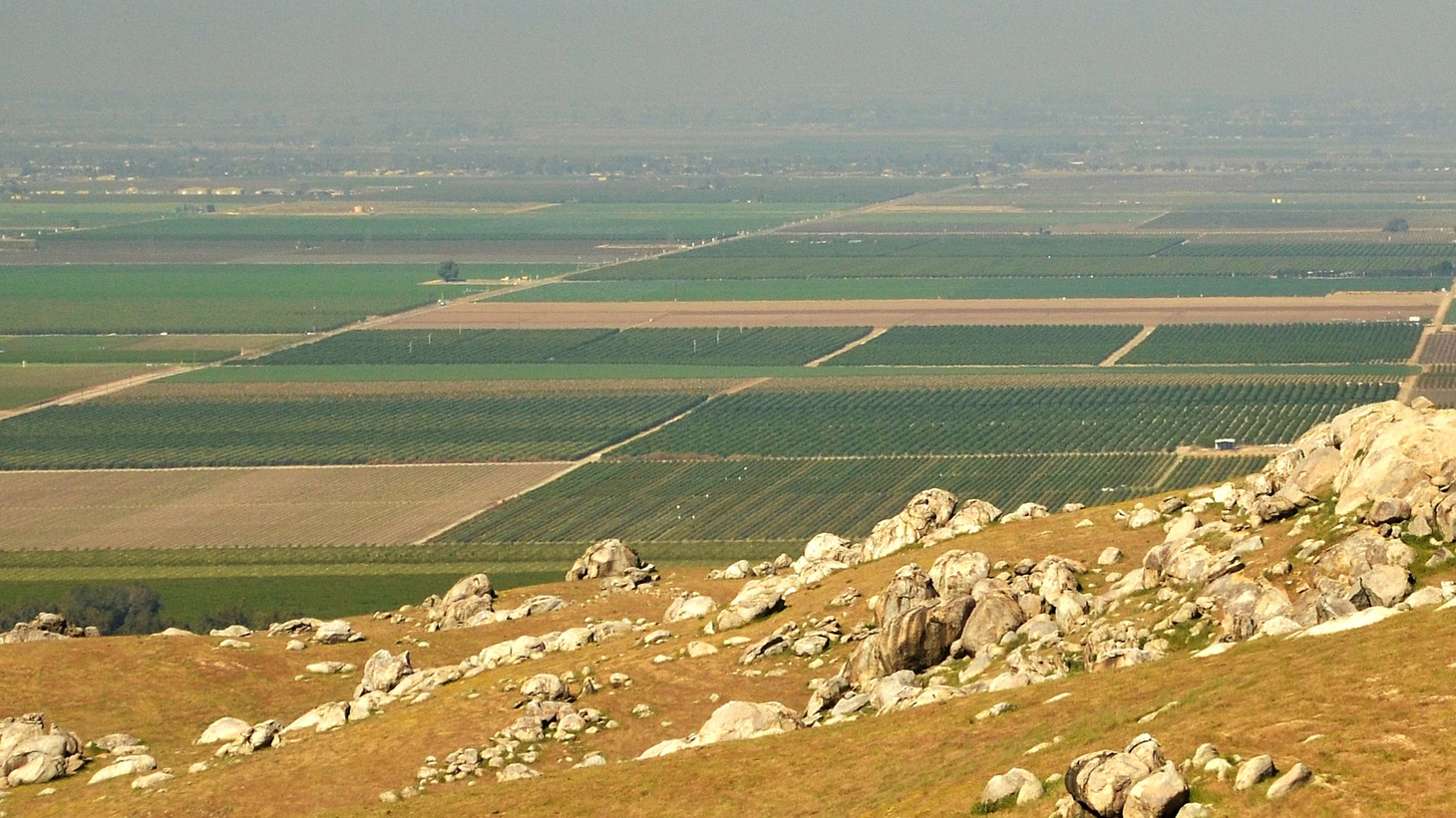 The San Joaquin Valley.