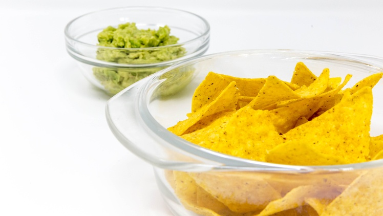 If you dunk a chip into a bowl of salsa, bite it, then dunk again, are you spreading your germs all over the communal dip?