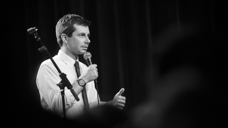 Pete Buttigieg, mayor of South Bend, Indiana, is one of the dozens of people running for the Democratic nomination for president.