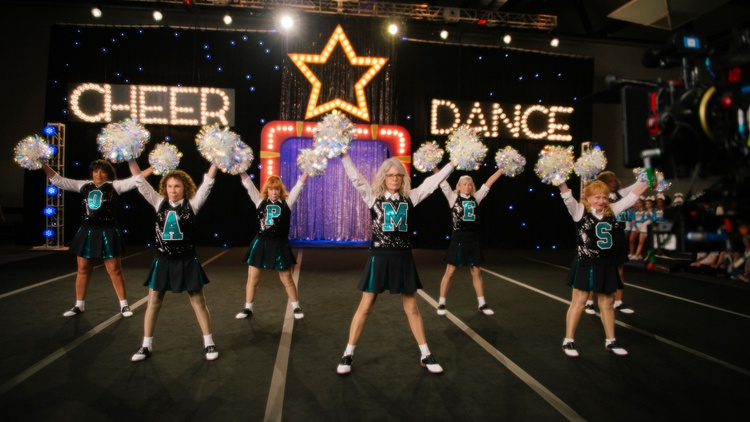 """Our critics review """"Biggest Little Farm,"""" a documentary that follows a couple in LA working to develop a sustainable farm; """"Poms,"""" about retired women who form a cheerleading squad;…"""