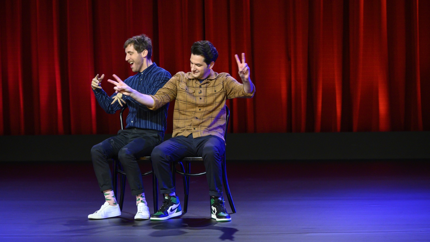 Thomas Middleditch and Ben Schwartz are out with a new improvised comedy special on Netflix.
