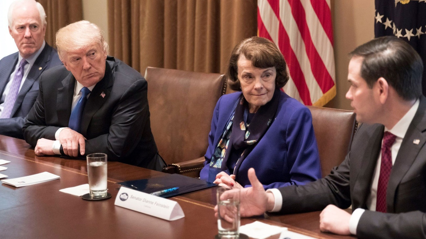 We speak with Sen. Feinstein about her forum with Kevin de León on Wednesday; how she and Democrats handled the Brett Kavanaugh hearings and allegations from Christine Blasey Ford; whether a single-payer healthcare system works, and more.
