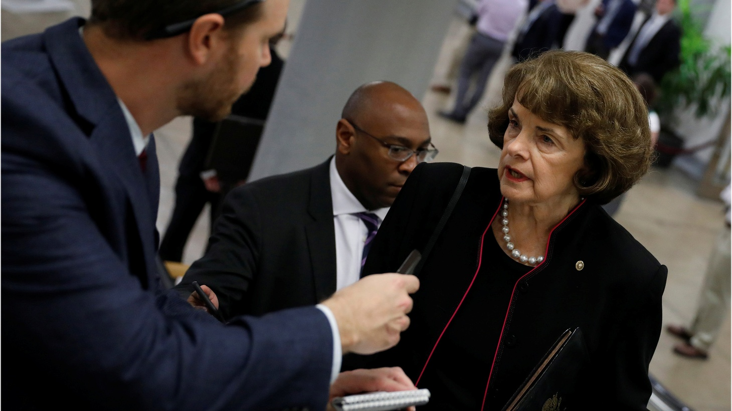 """Dianne Feinstein, the oldest serving U.S. Senator, wants another six years. She is """"all in,"""" according to a tweet from her campaign. Polls show Californians are split as to whether she should seek a fifth full term."""