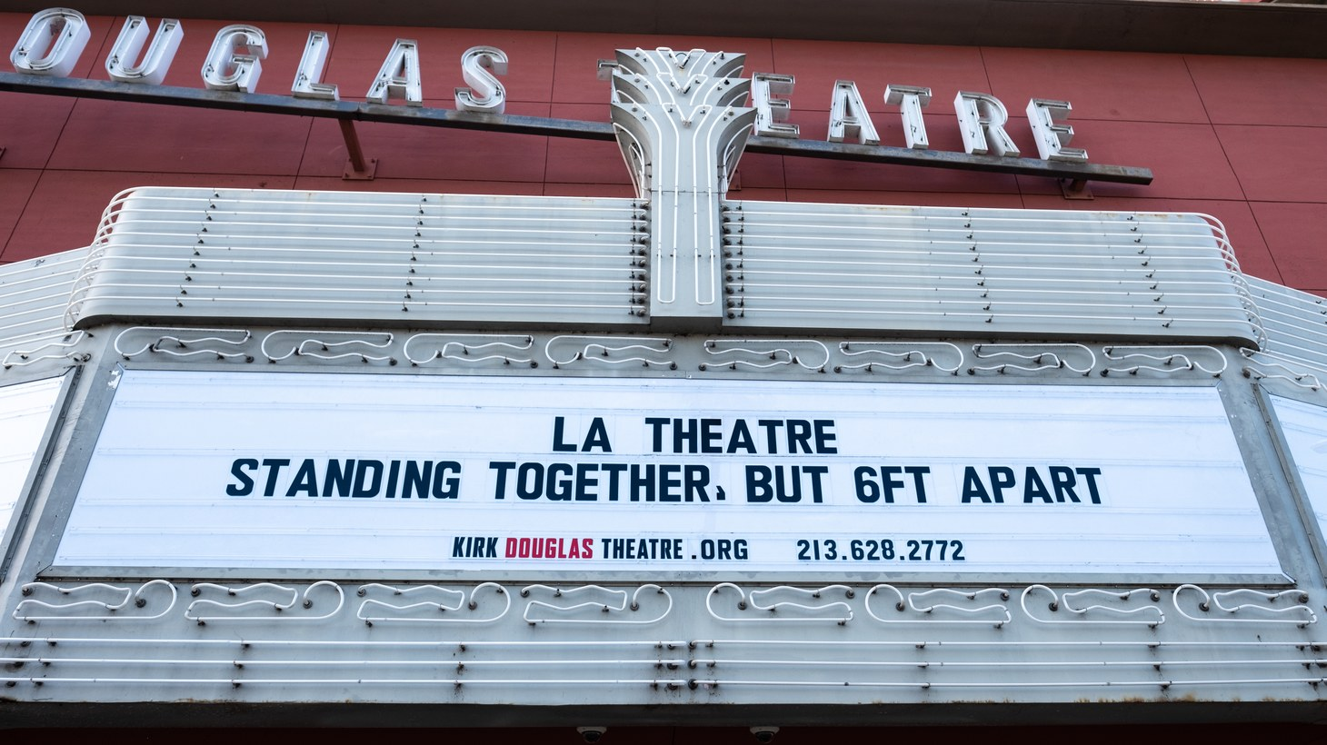 Center Theatre Group has postponed all events, including at its Kirk Douglas Theatre in Culver City.