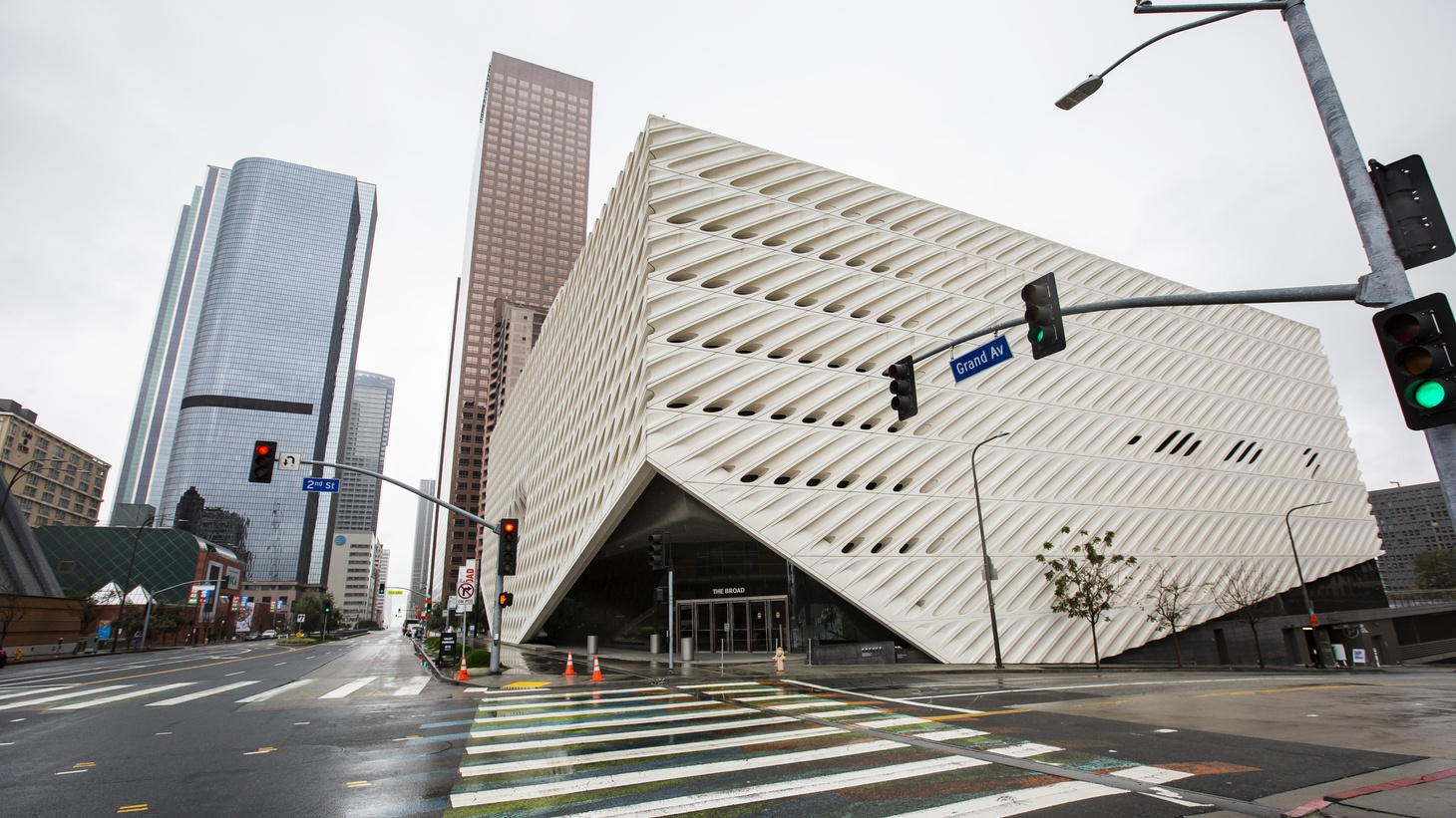 Many museums are closed, including The Broad Museum in downtown LA, but you can still check exhibits online.