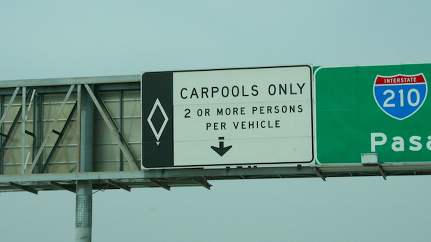 Federal regulators say HOV lanes should move at 45 miles-per-hour or more. However, L.A.'s lanes get going that fast only about 30 percent of the time.