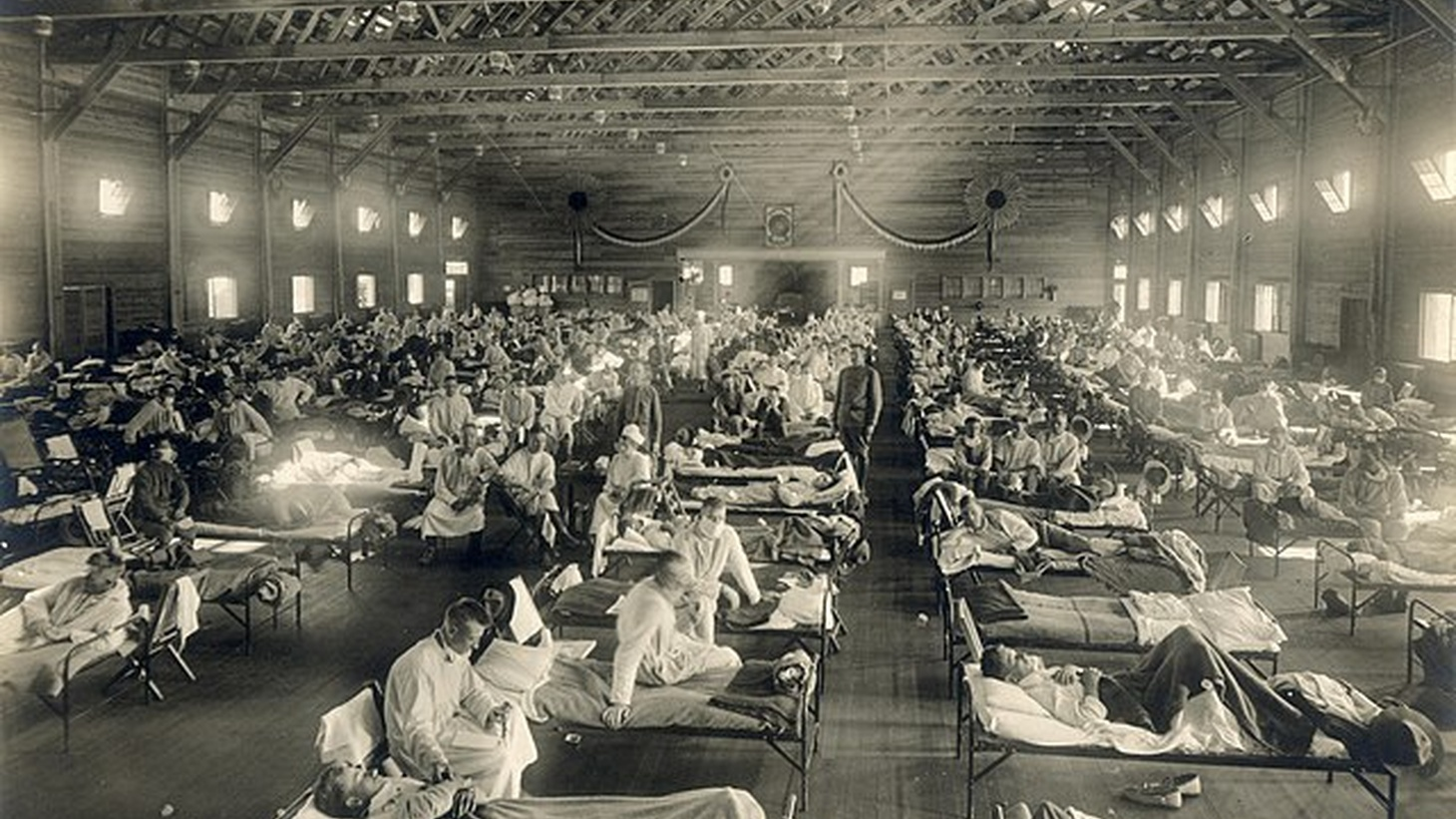 Some 700,000 Americans died due to the 1918 Spanish Flu.