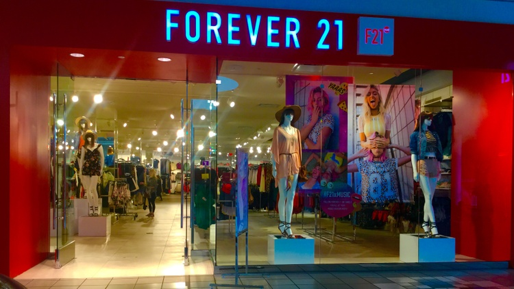 Forever 21 is the latest retail chain forced to file for bankruptcy in the changing retail climate. The store is known for $5 tops and bright yellow shopping bags.