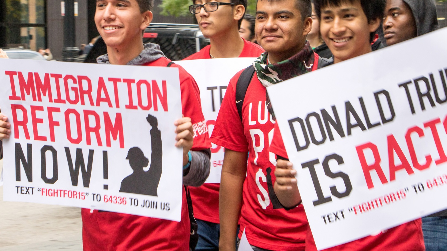 Donald Trump has promised to rescind President Obama's Deferred Action for Childhood Arrivals program, which gives temporary legal status to so-called Dreamers. Trump also cited the Eisenhower era's Operation Wetback as a model for his deportation plans. Civil rights groups hold up that 1950s approach as an example of ethnic profiling.