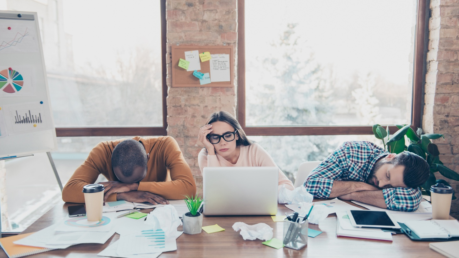 """""""The underlying reasons for moving to a shorter working week are as present in the U.S. as anywhere else. There are just as many workers who feel overworked, burnt out, distressed by jobs, and who are suffering themselves,"""" says researcher Jack Kellam."""
