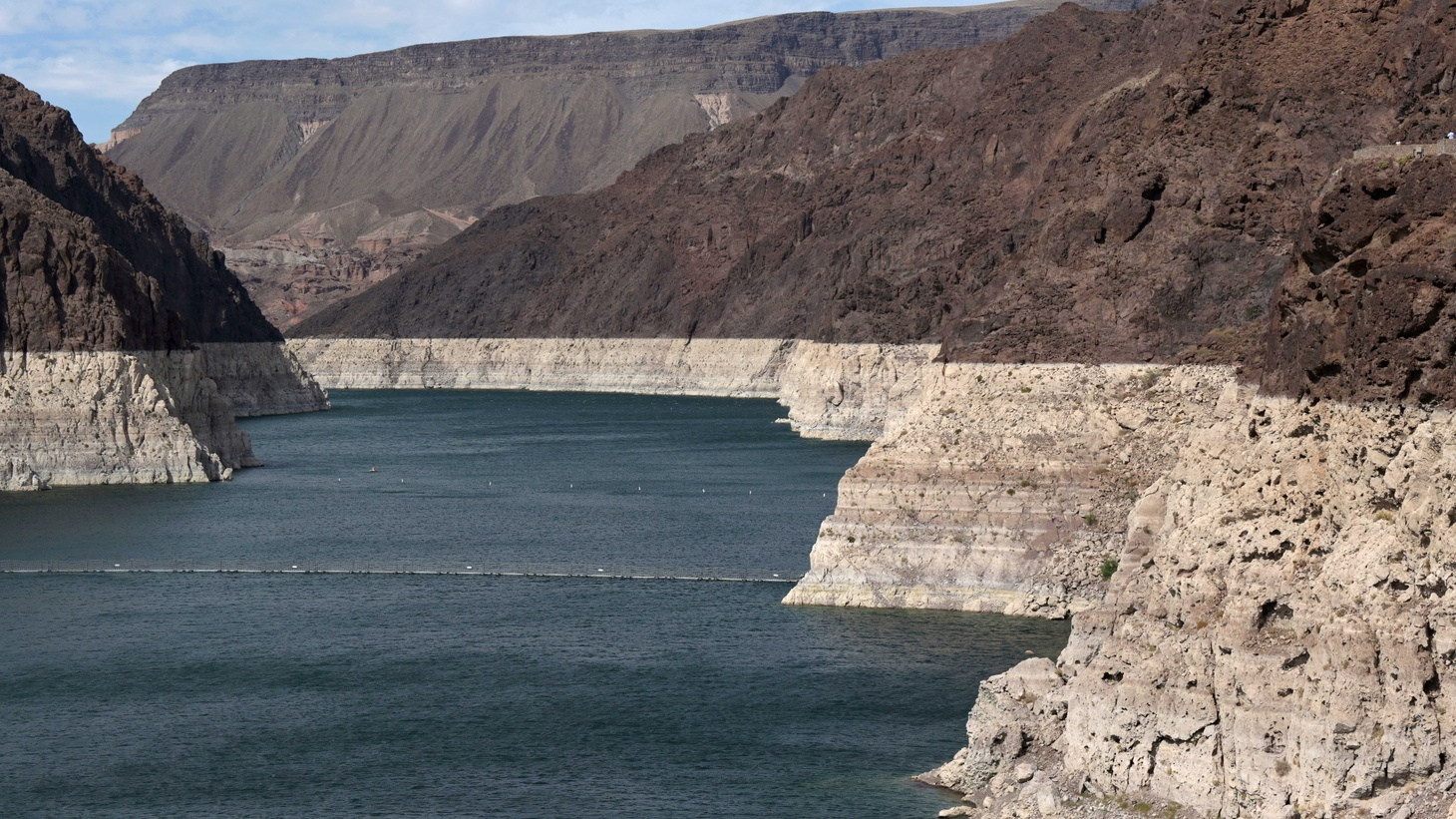 Low water levels due to drought are seen in the Hoover Dam reservoir of Lake Mead near Las Vegas, Nevada, U.S. June 9, 2021.