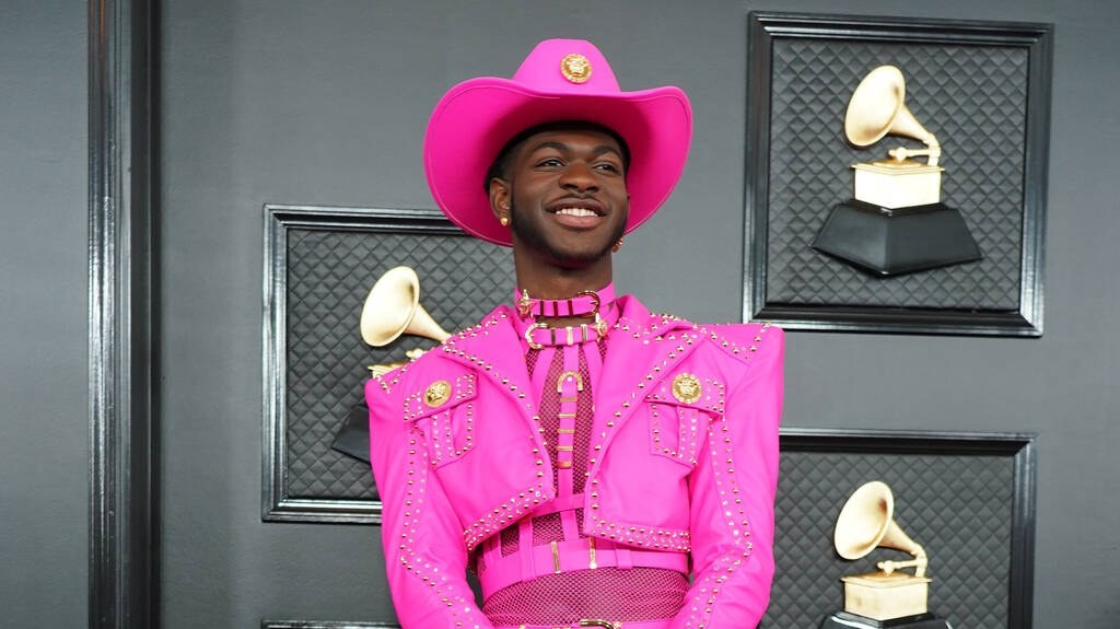 Lil Nas X attends the 62nd Annual Grammy Awards at the Staples Center on January 26, 2020.