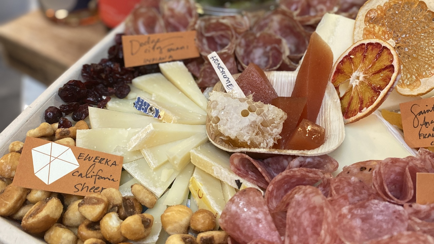Why not build a cheese board for watching the Oscars this Sunday? You can find all sorts of cheeses at DTLA Cheese — or other local specialty stores.