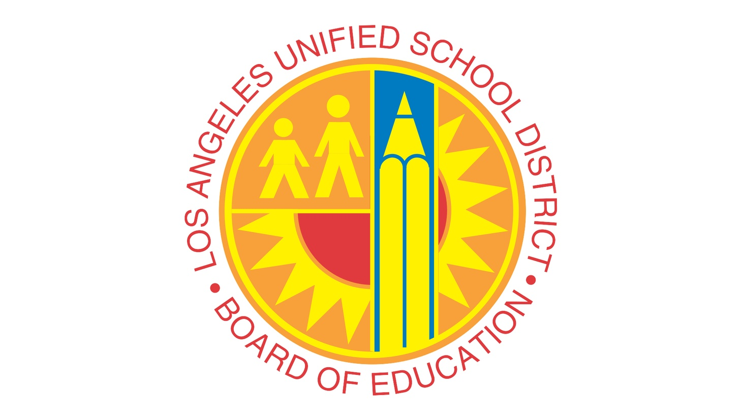 Seal of Los Angeles Unified School District.