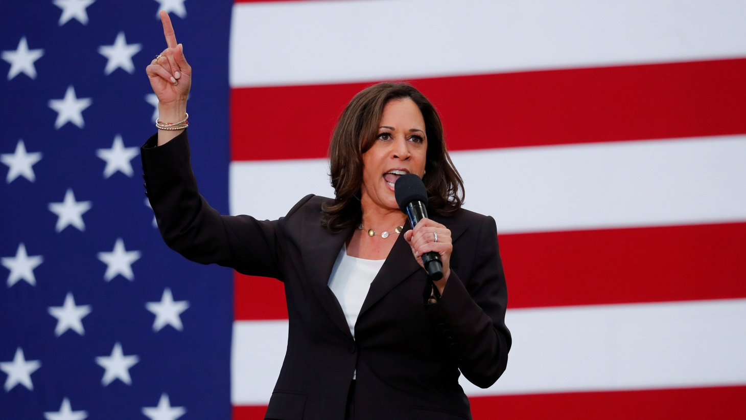 U.S. Senator Kamala Harris holds an organizing event in Los Angeles, California, U.S., May 19, 2019. On August 11, 2020, Joe Biden announced Kamala Harris as his vice presidential running mate.