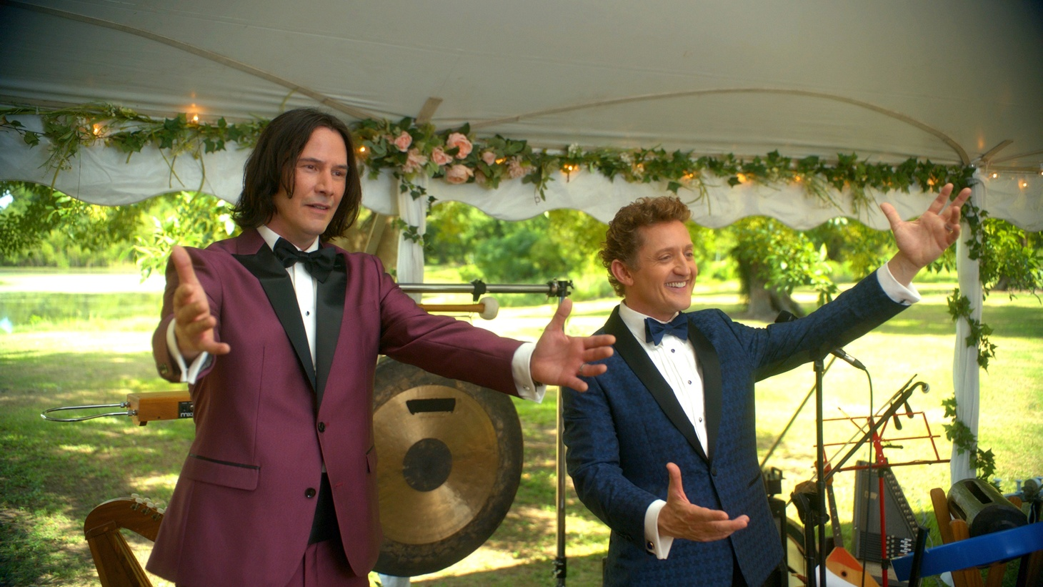 """Keanu Reeves and Alex Winter star in """"Bill and Ted Face the Music."""""""