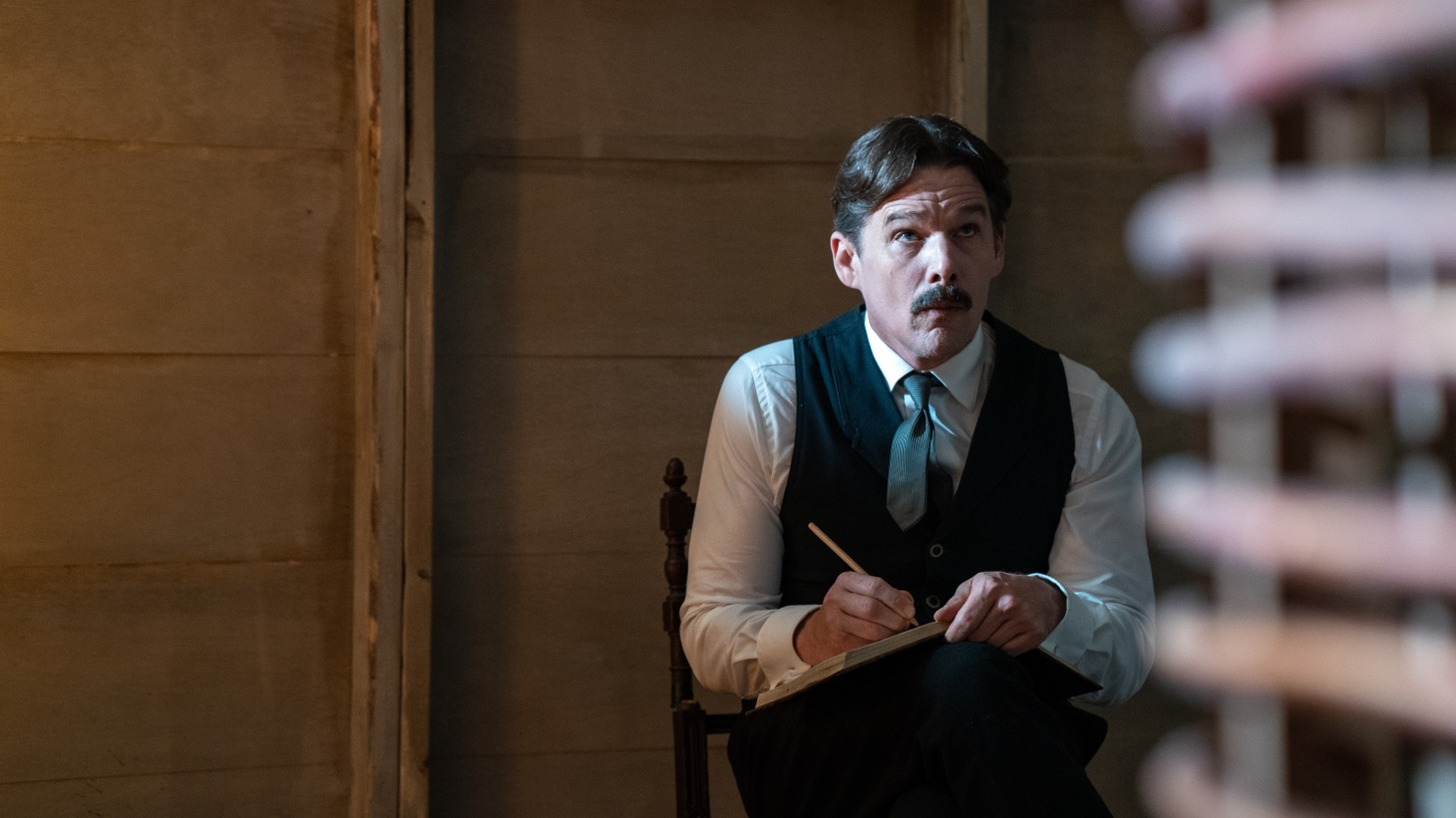 """Ethan Hawke stars as Nikola Tesla in the movie """"Tesla"""" about the enigmatic inventor and physicist."""