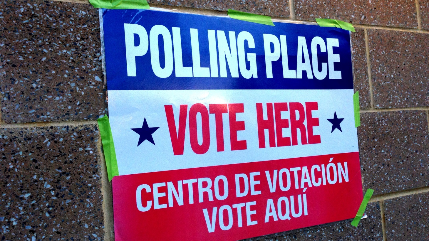 Early voting begins today in Virginia and three other states.