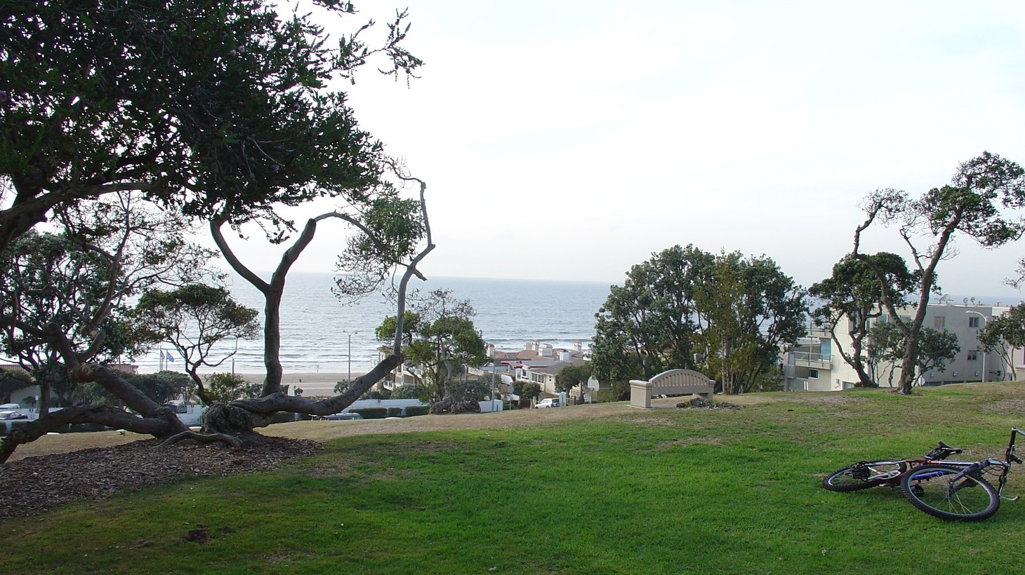 Bruce's Beach, a park in Manhattan Beach, has been the site of racial justice protests over the past year.