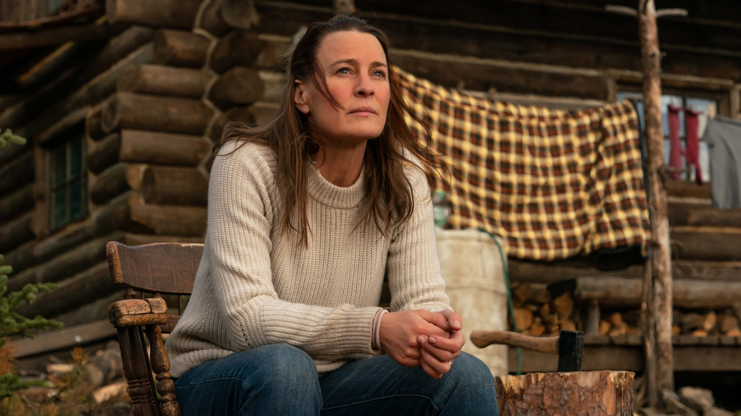 """Robin Wright stars as """"Edee"""" in her feature directorial debut """"Land."""""""