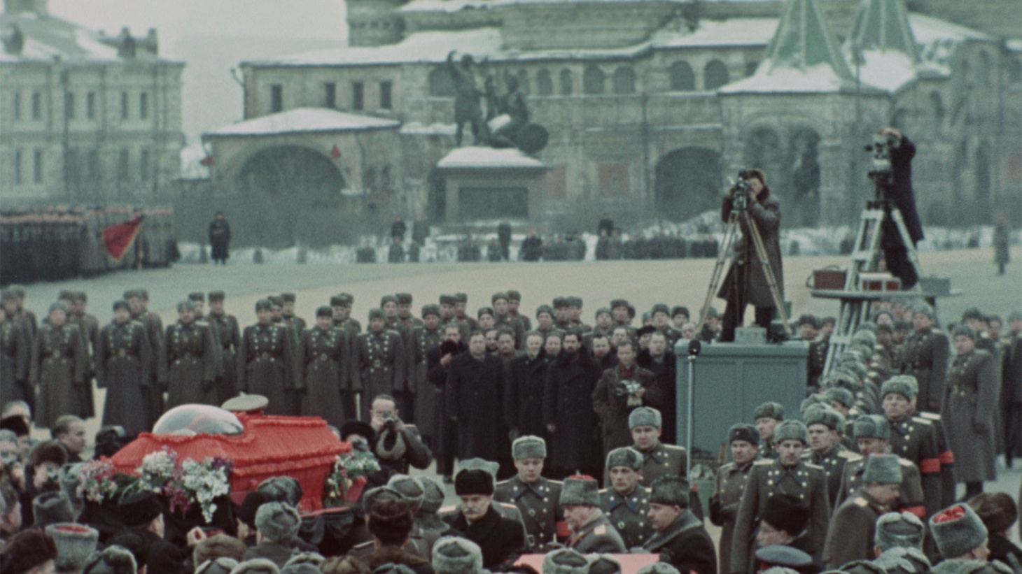 """""""State Funeral"""" is about the death of Joseph Stalin."""